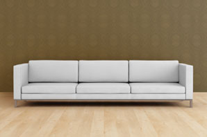 Aardvark Carpet Cleaning, Norwich | Upholstery and Curtain Cleaning > Professional cleaning of all types of sofa, curtains and upholstery | Image: Sofa in room with wooden flooring